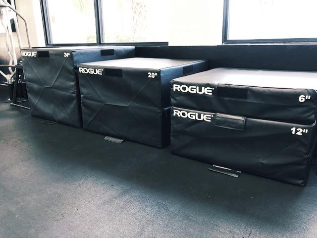 Padded Plyometric Boxes