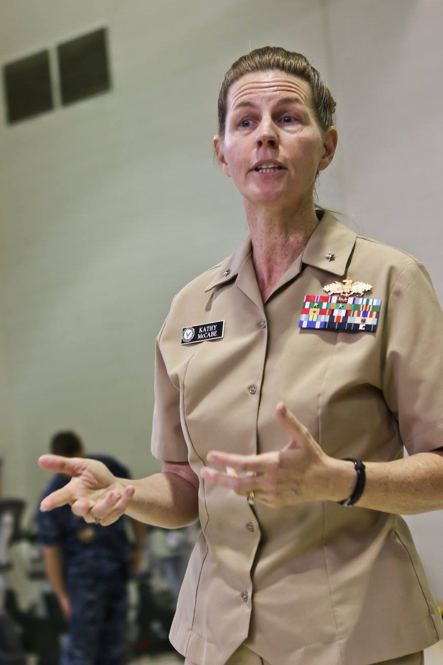 RADM Katherine McCabe Speaks at NOSC