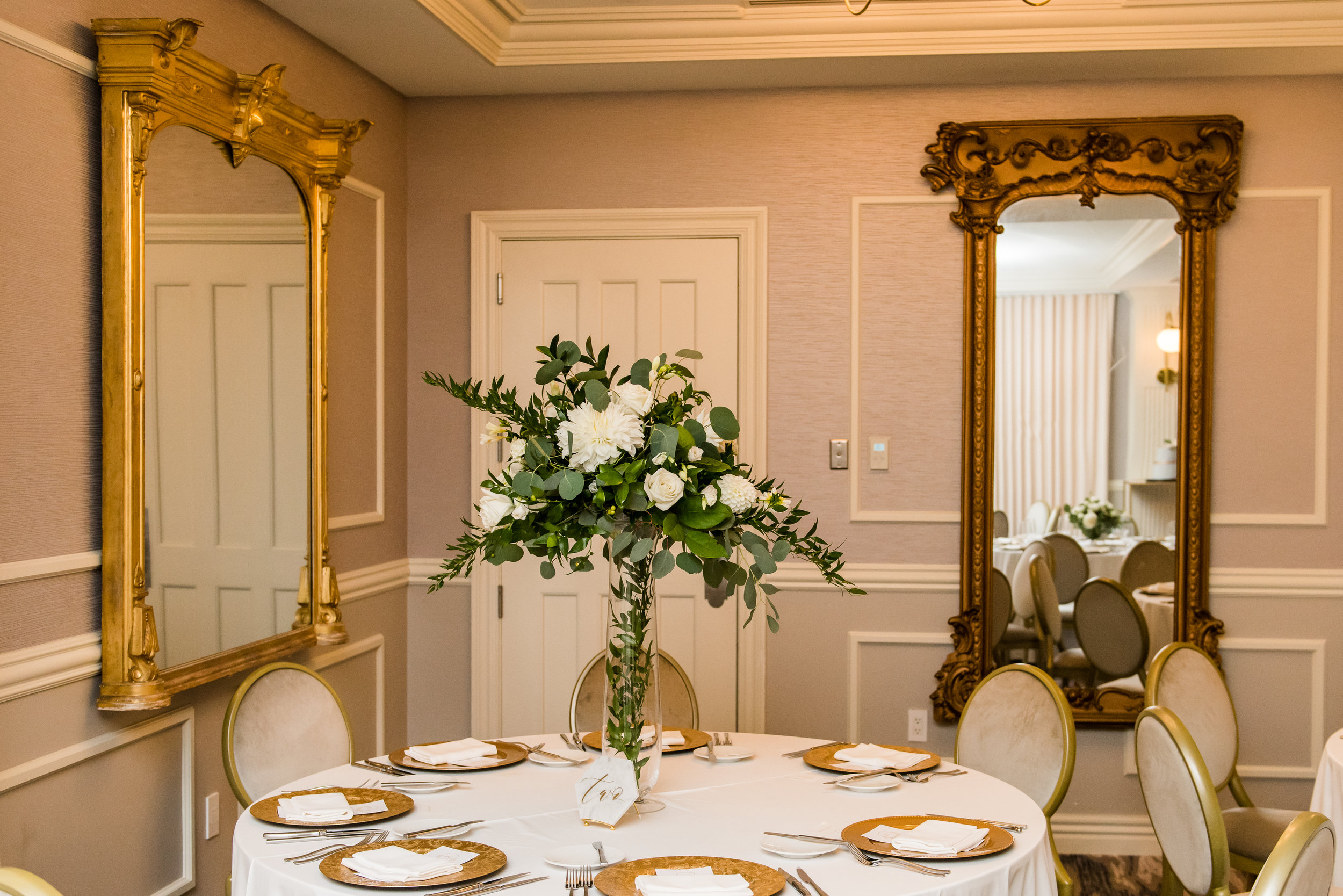 "THE RECEPTION - ""Elegant and airy"", We kept the design cohesive but different all throughout the spaces. Guests had something to look forward to with every passing moment. Paul-Ann & Christopher loved the overall feel of the evening."