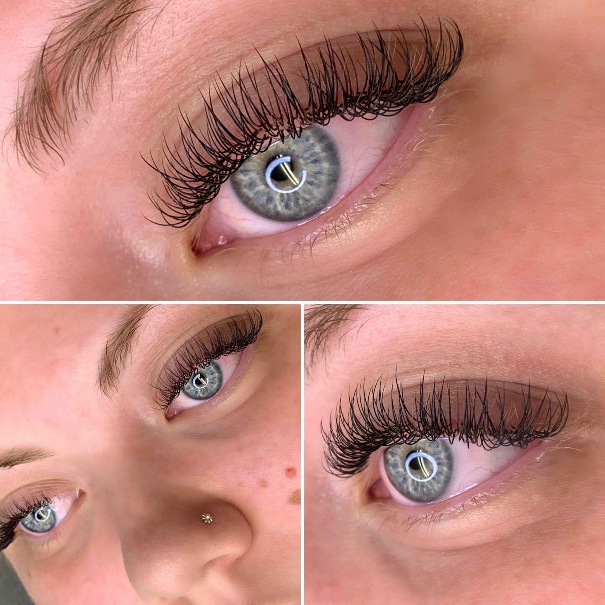Singel blandat med flat lashes