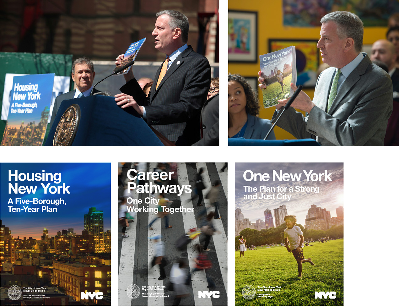 official City Hall publications