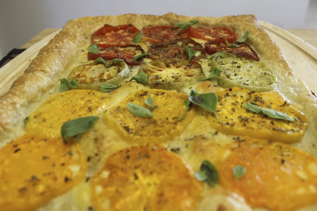 heirloom tomato tart 36