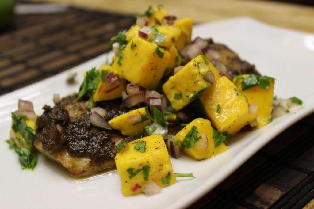 jamaican jerk fish mango salsa 68