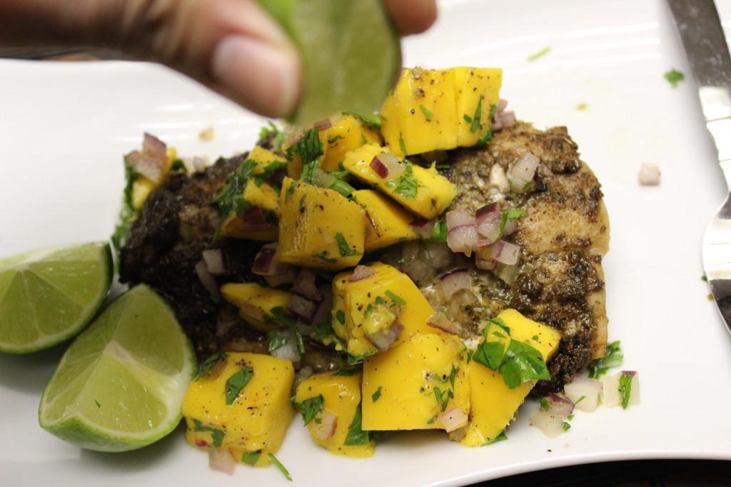 jamaican jerk fish mango salsa 70