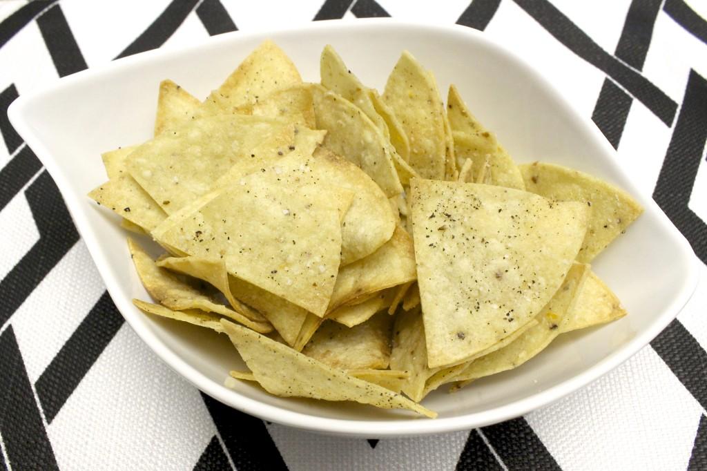 homemade gluten free baked tortilla chips 10