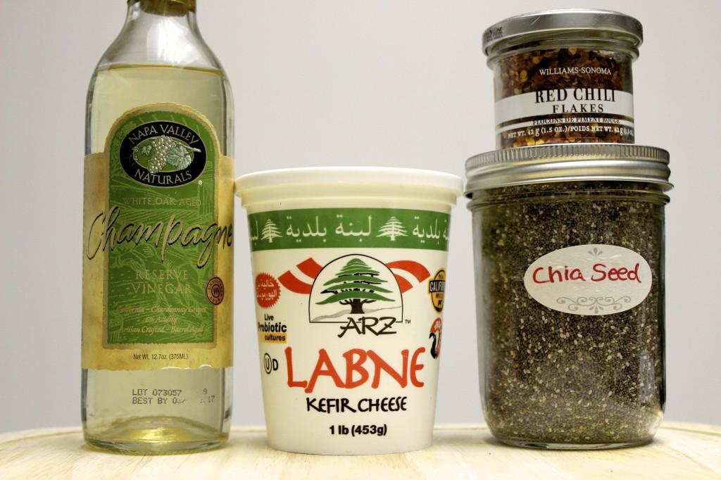 low fat creamy cardamom chia seed salad dressing 1
