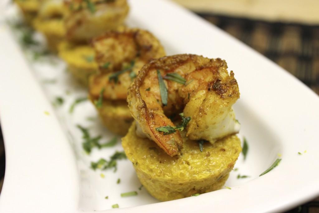 bombay shrimp quinoa bites indian curry 35