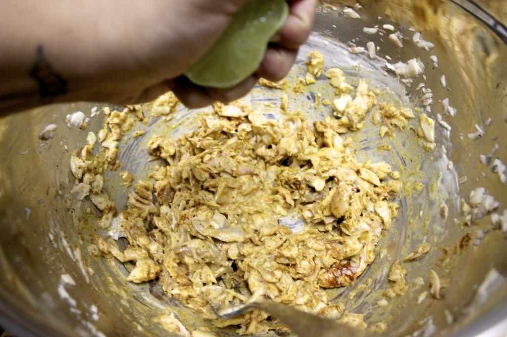 kale fish cakes ginger lime tartar sauce 6