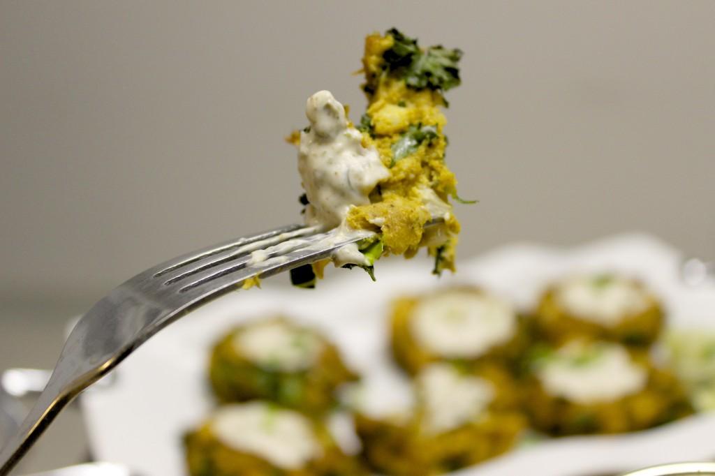 kale fish cakes ginger lime tartar sauce 23