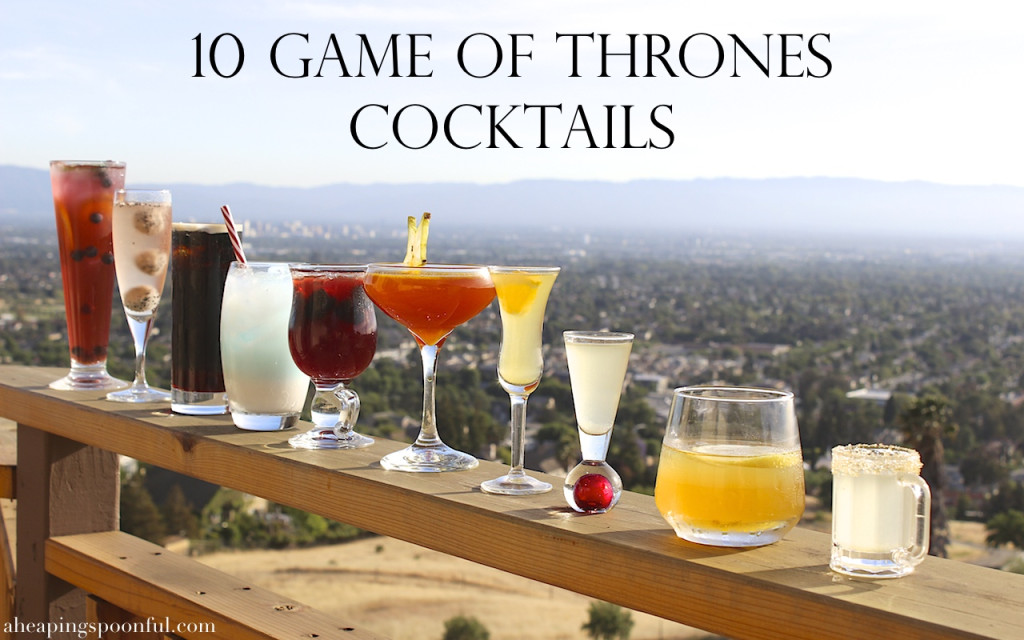 10 game of thrones theme cocktails drinks 17