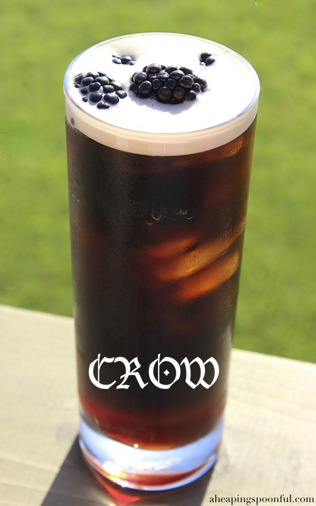crow jon snow game of thrones cocktail drink 5