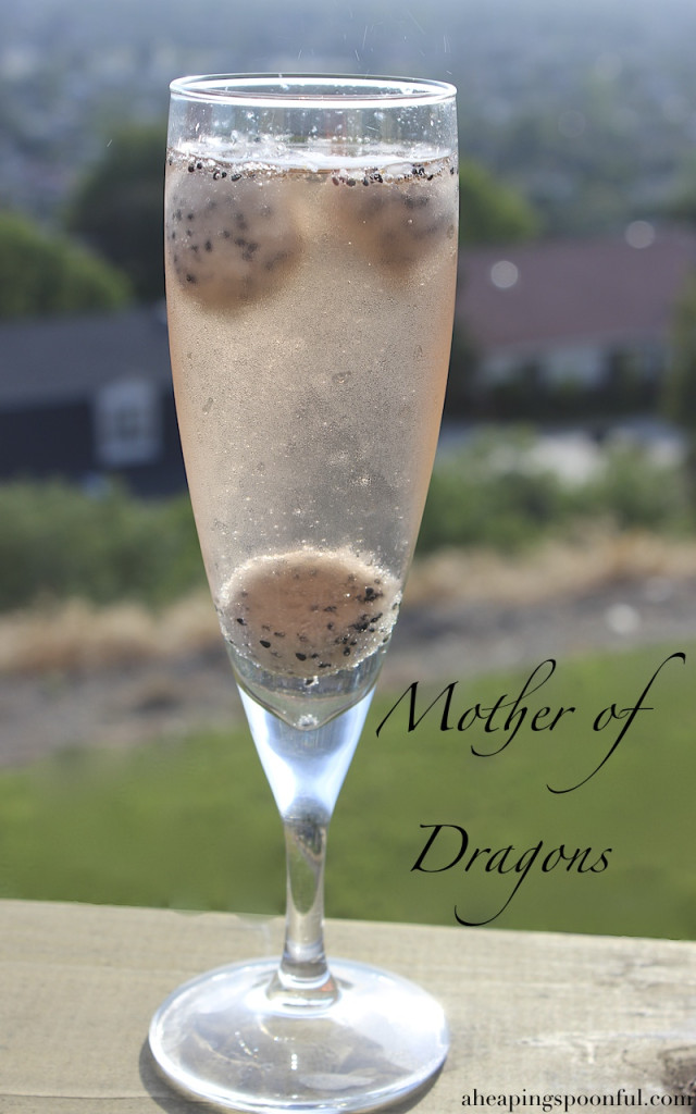 khaleesi game of thrones mother of dragons cocktail drink 7
