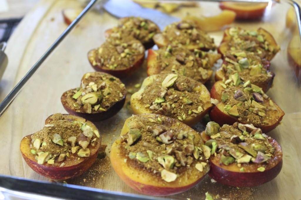 pale pistachio pecan peaches 22