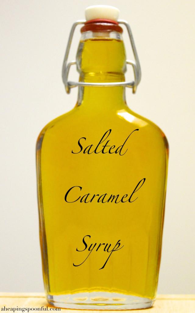 salted caramel syrup 23