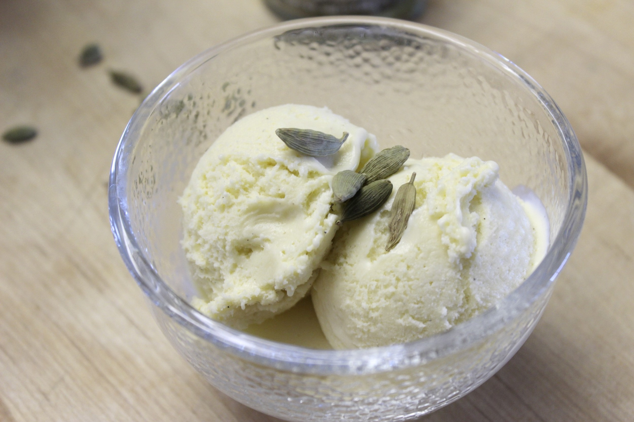 cardamom ice cream 1