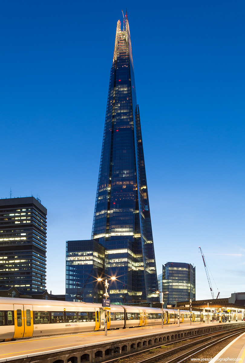The Shard London – Europe's tallest building by architectural photographer Joas Souza - www.joasphotographer.com