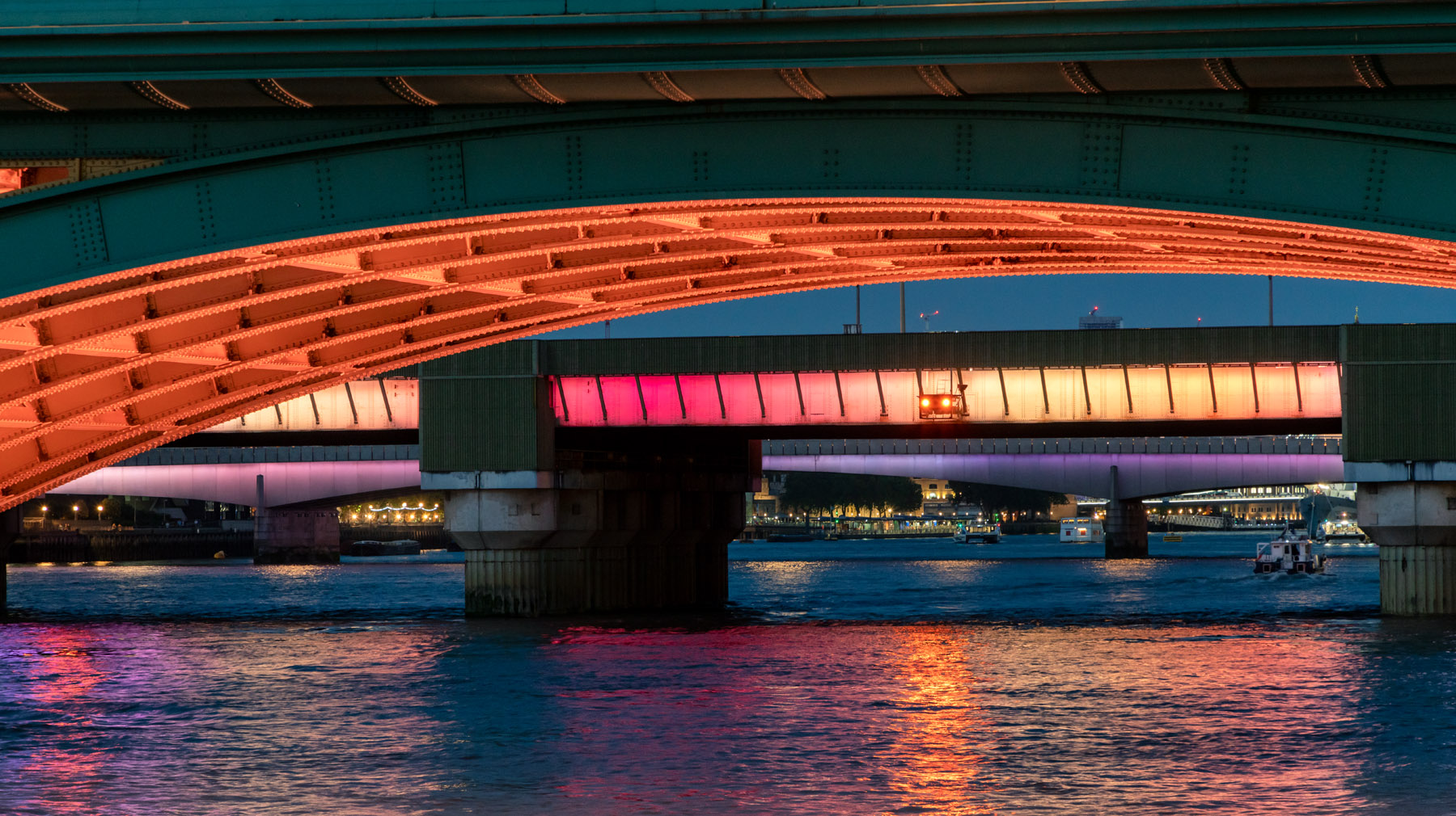 Illuminated River Project by Leo Villareal - Photos by Joas Souza