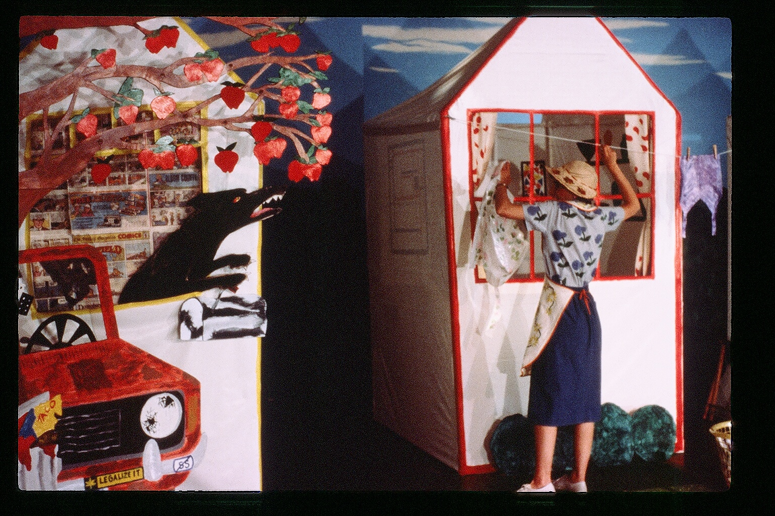 The Girl Artists  Souvenirs   performed in Portland, Seattle and Olympia, WA 1984-85.