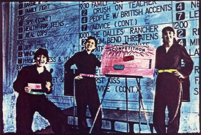 The Girl Artists  TV Guidance   performed in Portland and Seattle, 1982.
