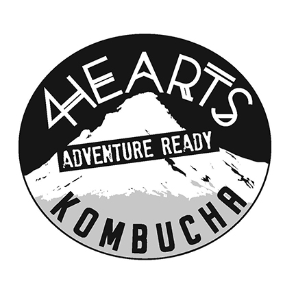 Branding for start-up kombucha brewer. Goals included a look that said adventure, nature, hand crafted and local.