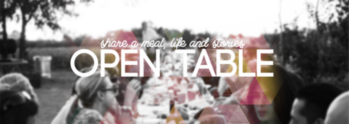 Open Tables is an avenue where we as a community can cultivate family. There is no agenda behind it. All it is, is a time of sharing food and life together. Everyweek there are several different homes open where this takes place. To reach the different families that host open tables, please e-mail info@therivercma.org .