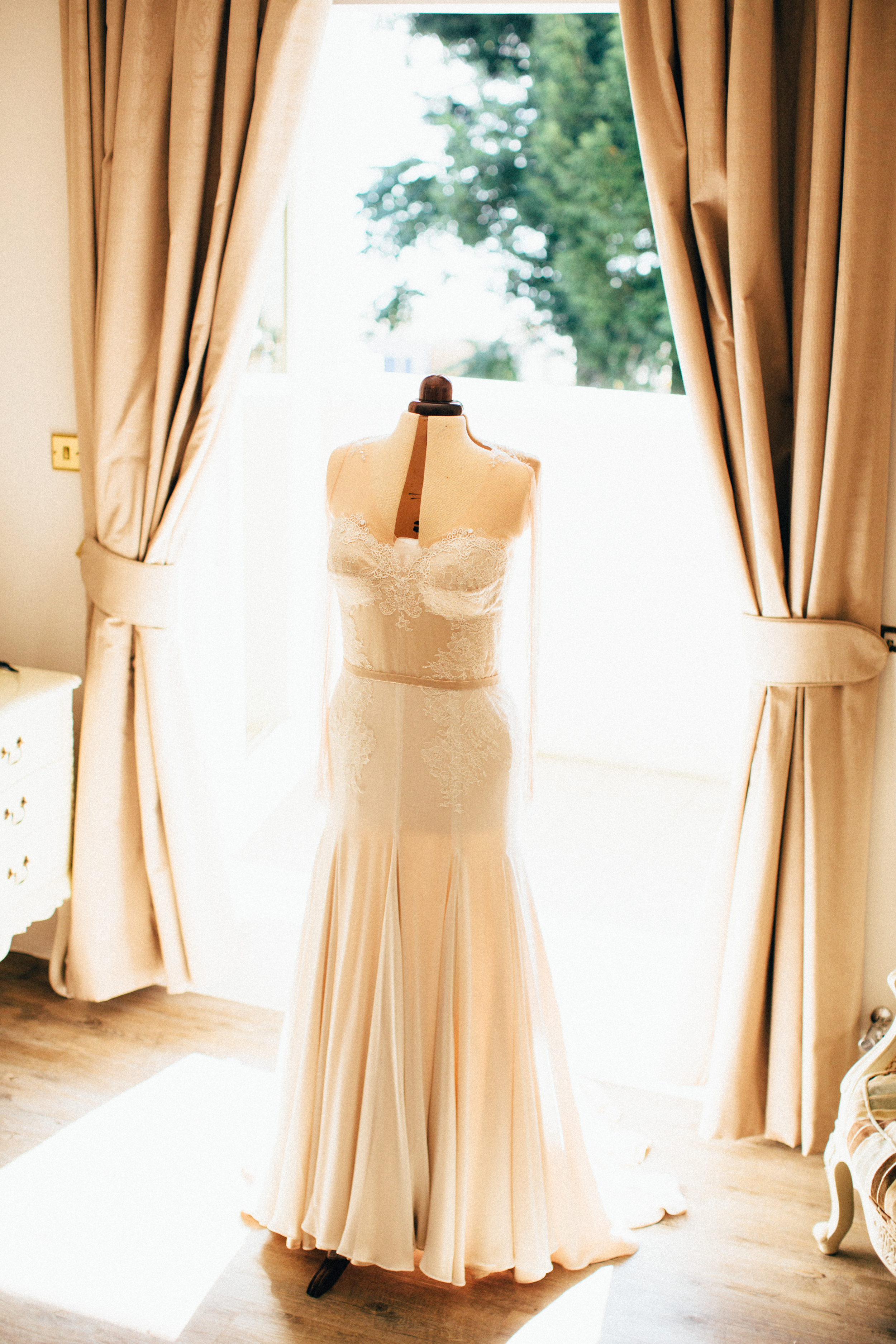 My Dress was made by Kaydia Torrel a local artisan, together we created an ethereal design that would look timeless.