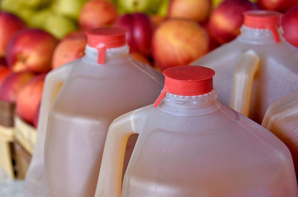 Apple Cider - Available by the gallon or half-gallon - apple cider is a sign that fall is finally here!