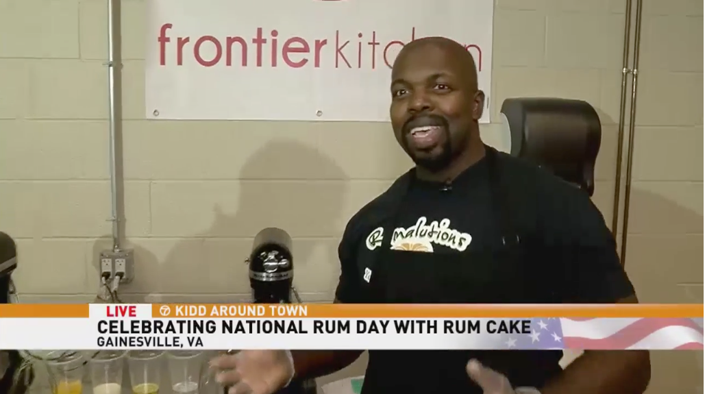 Rumalutions   Tasting our way through National Rum Day with Rumalutions rum cakes    From marines to bakers: DMV Designed spotlights Rumalutions Rum Cakes