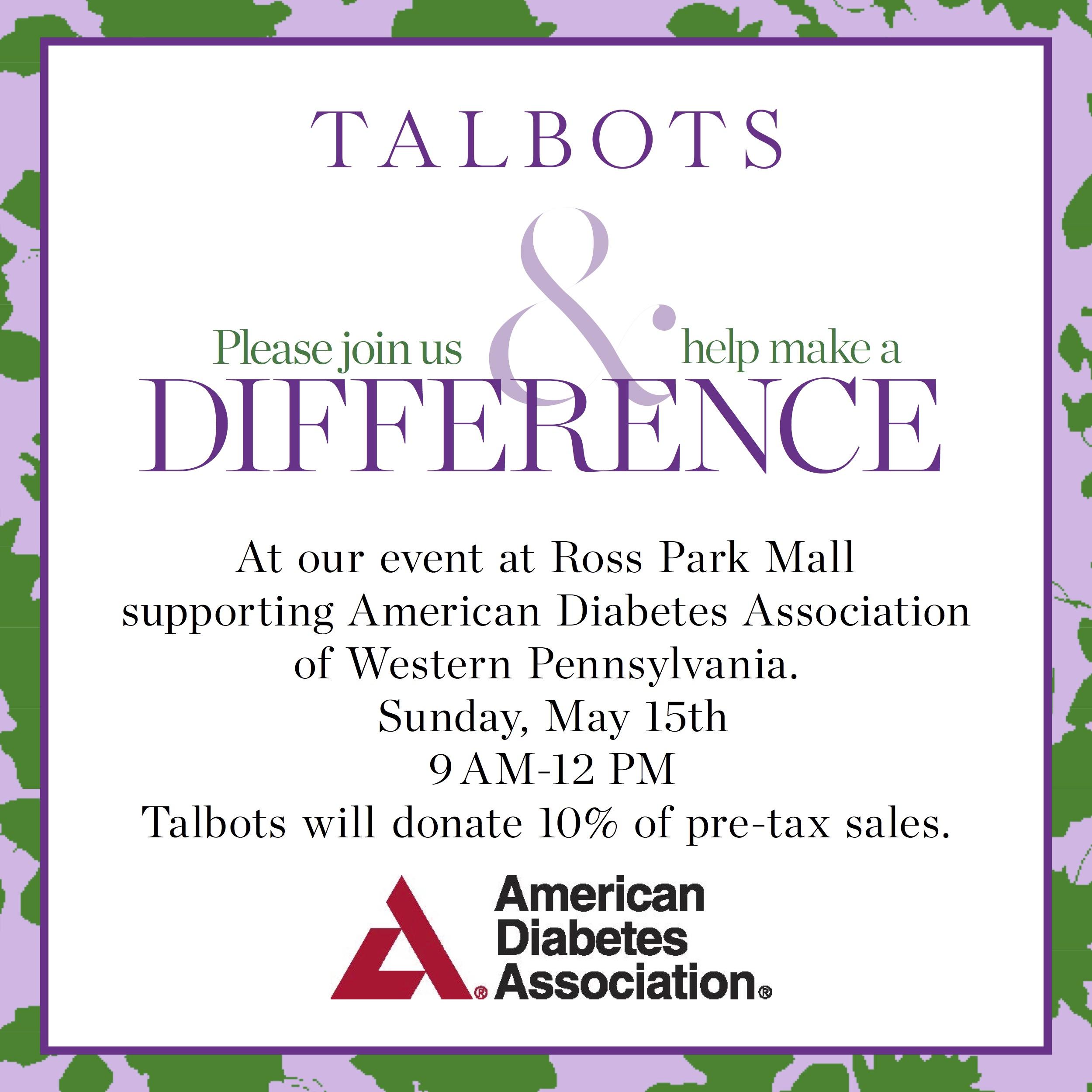 Talbots Event