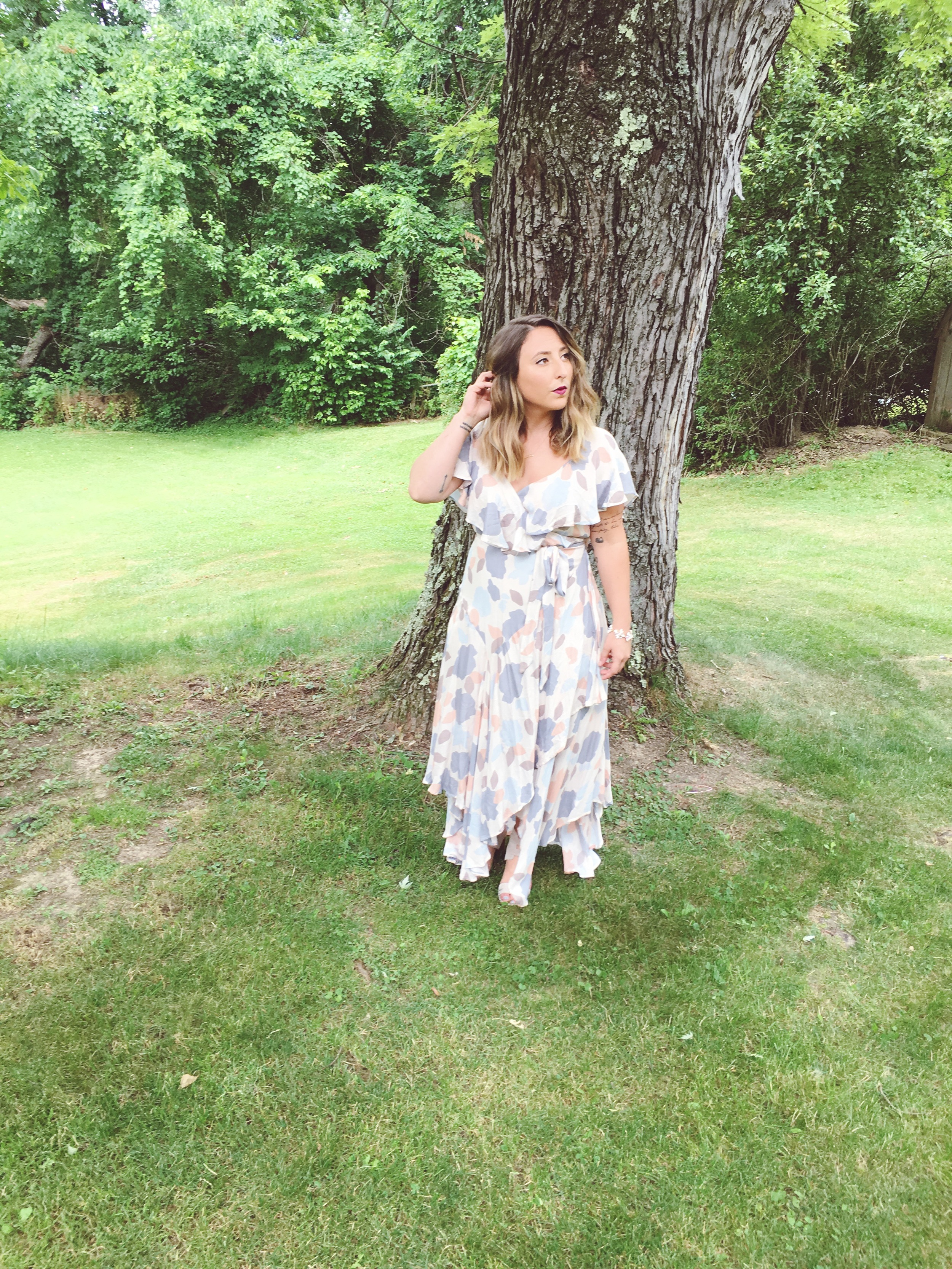 Free People- Faye Wrap Dress