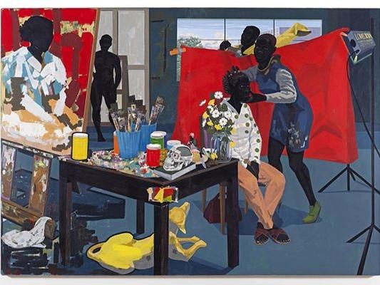 Kerry James Marshall, Untitled (Studio), 2014