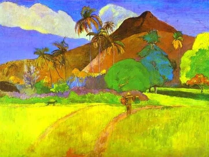 Paul Gaugin, Tahitian Landscape, 1891