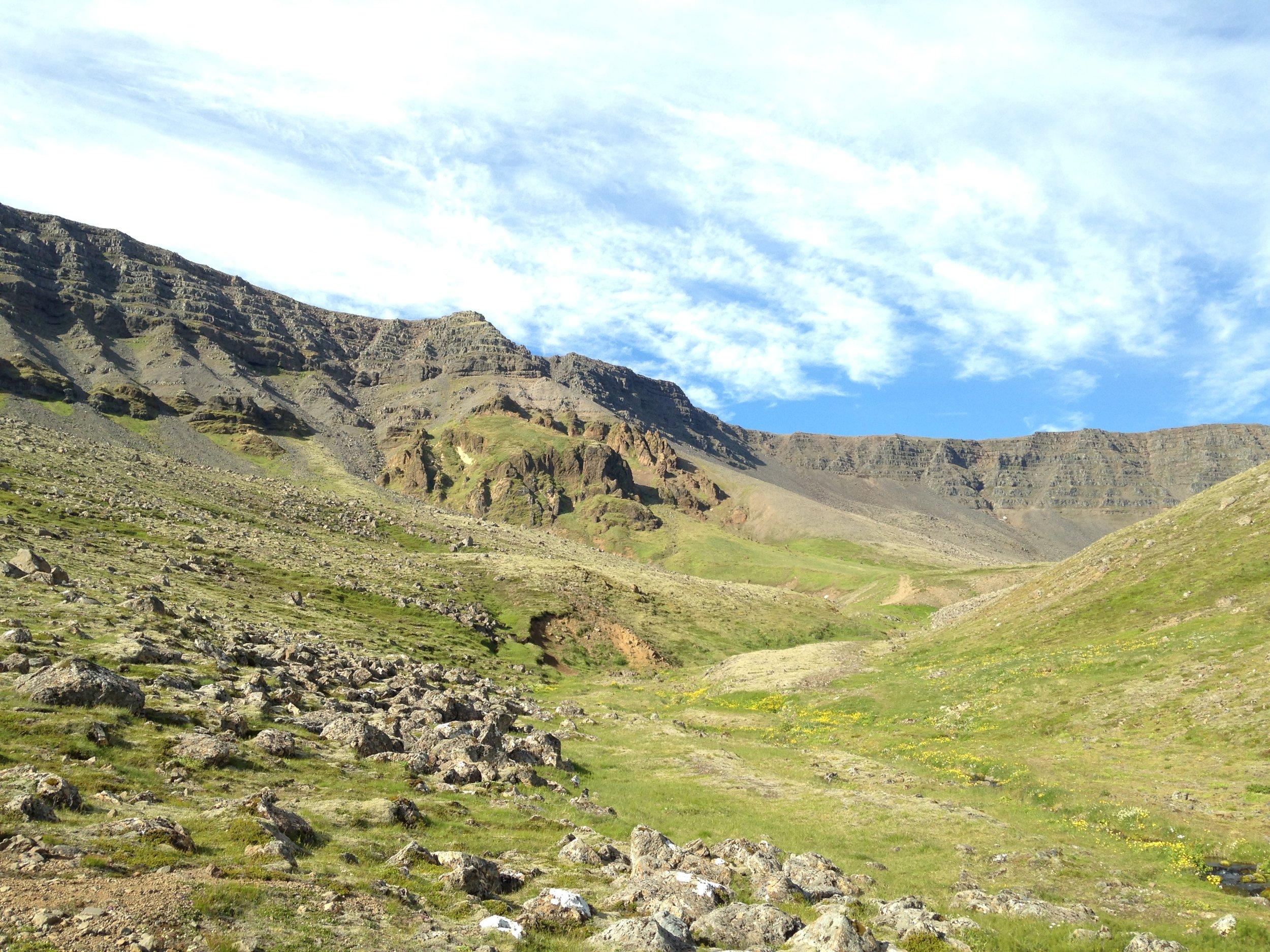 Hiking Mt. Esja