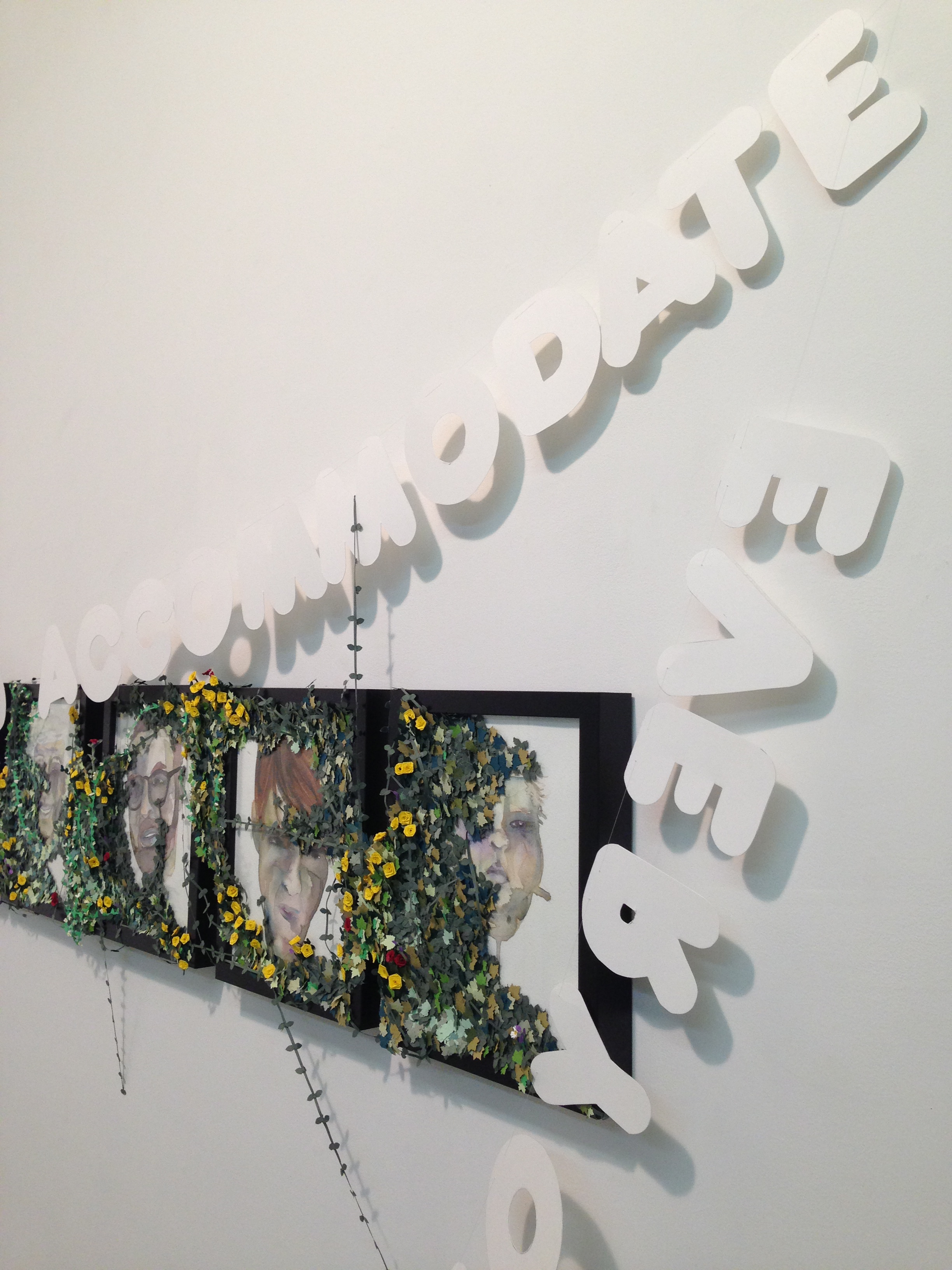Impossible to Accommodate (detail), 2013