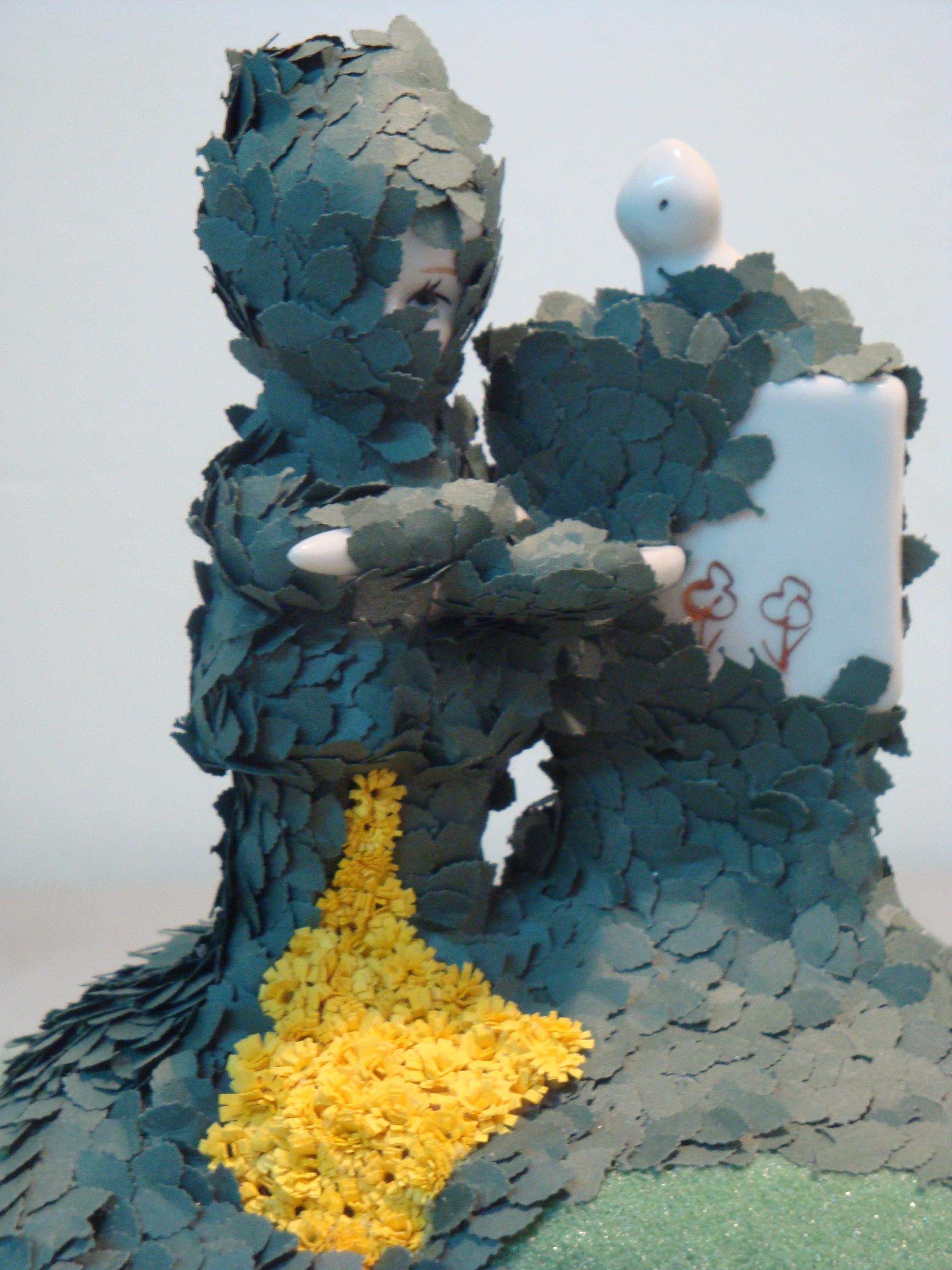 Golden Girl (detail), 2010