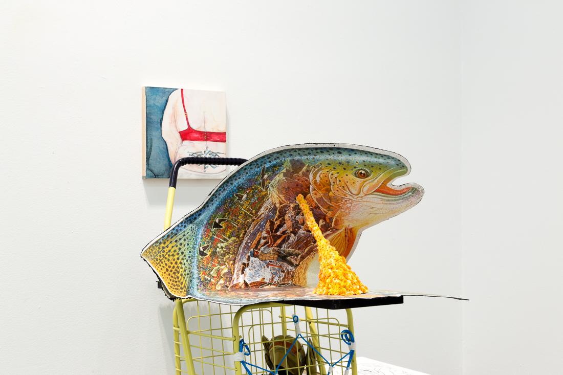 I'd Rather Be Fishin'(detail), 2016