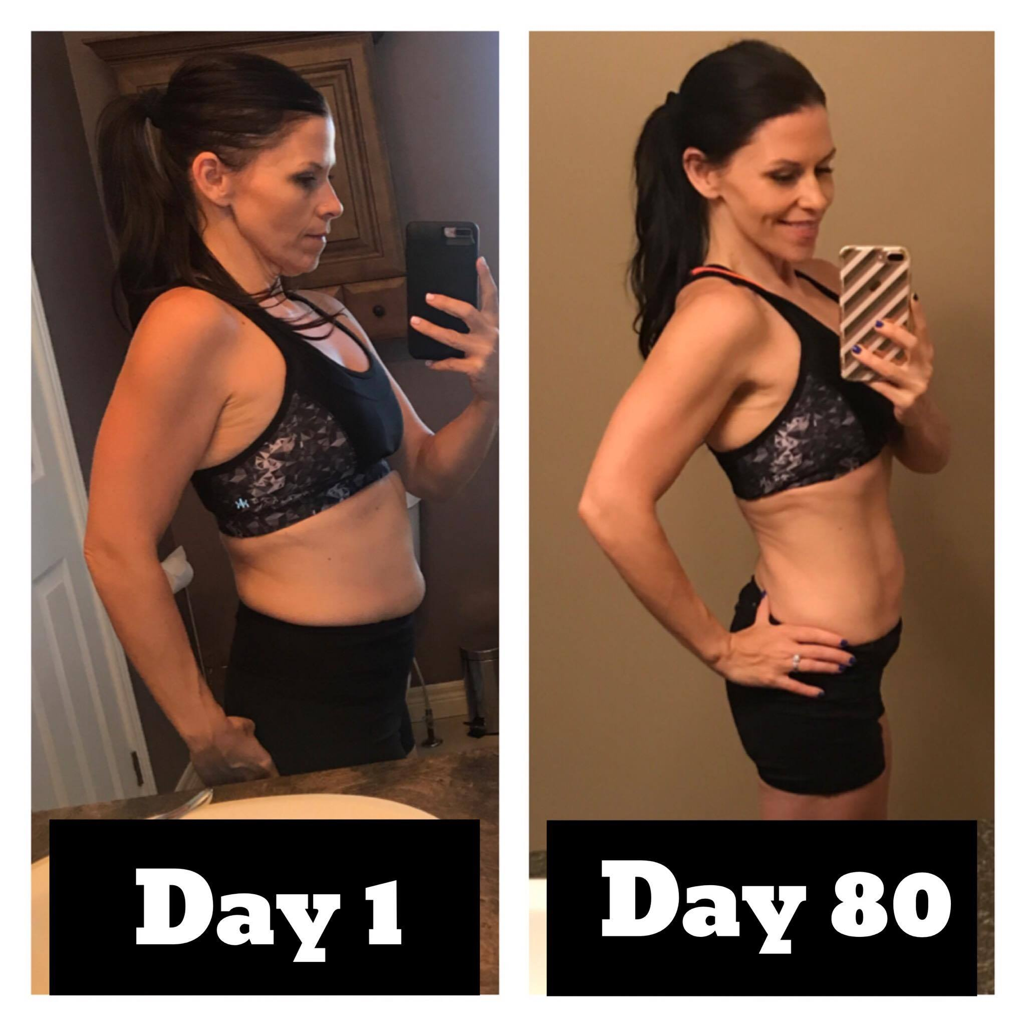 FINAL RESULTS ARE IN!  10 pounds.  14 inches.  80 DAYS!!!!