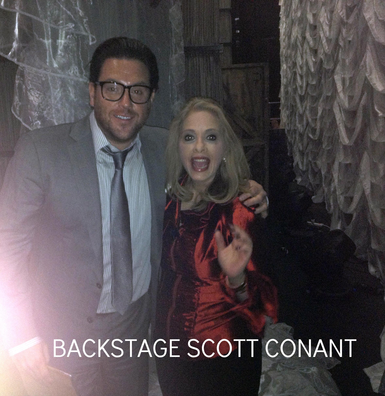 BACKSTAGE W/ SCOTT CONANT