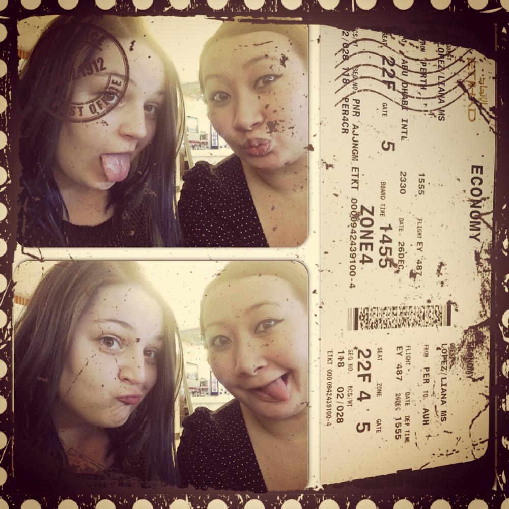 Shameless airport selfie