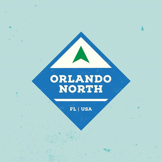 Orlando North achievement badge.