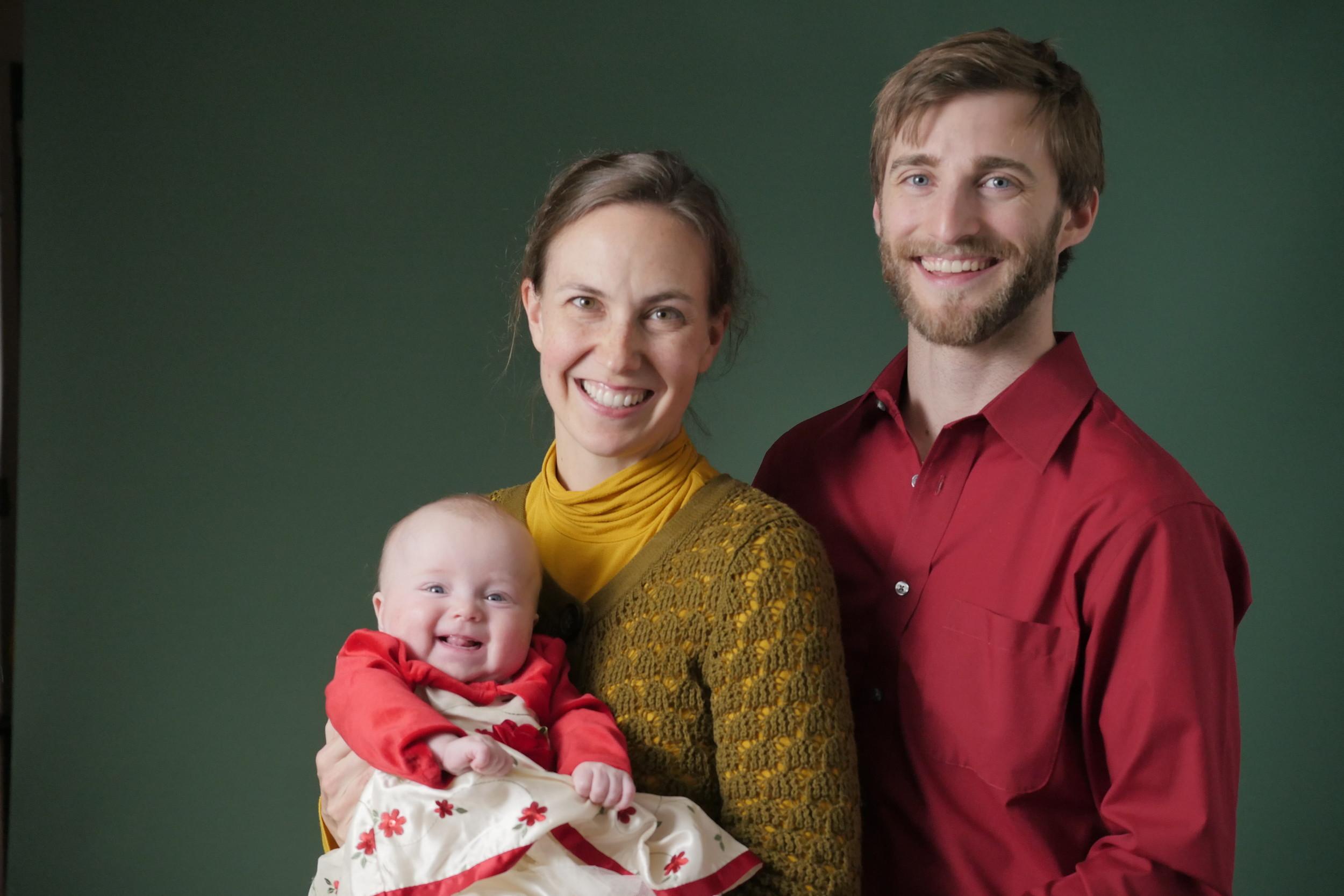 Shiloh, Diana, and Matthew Burns