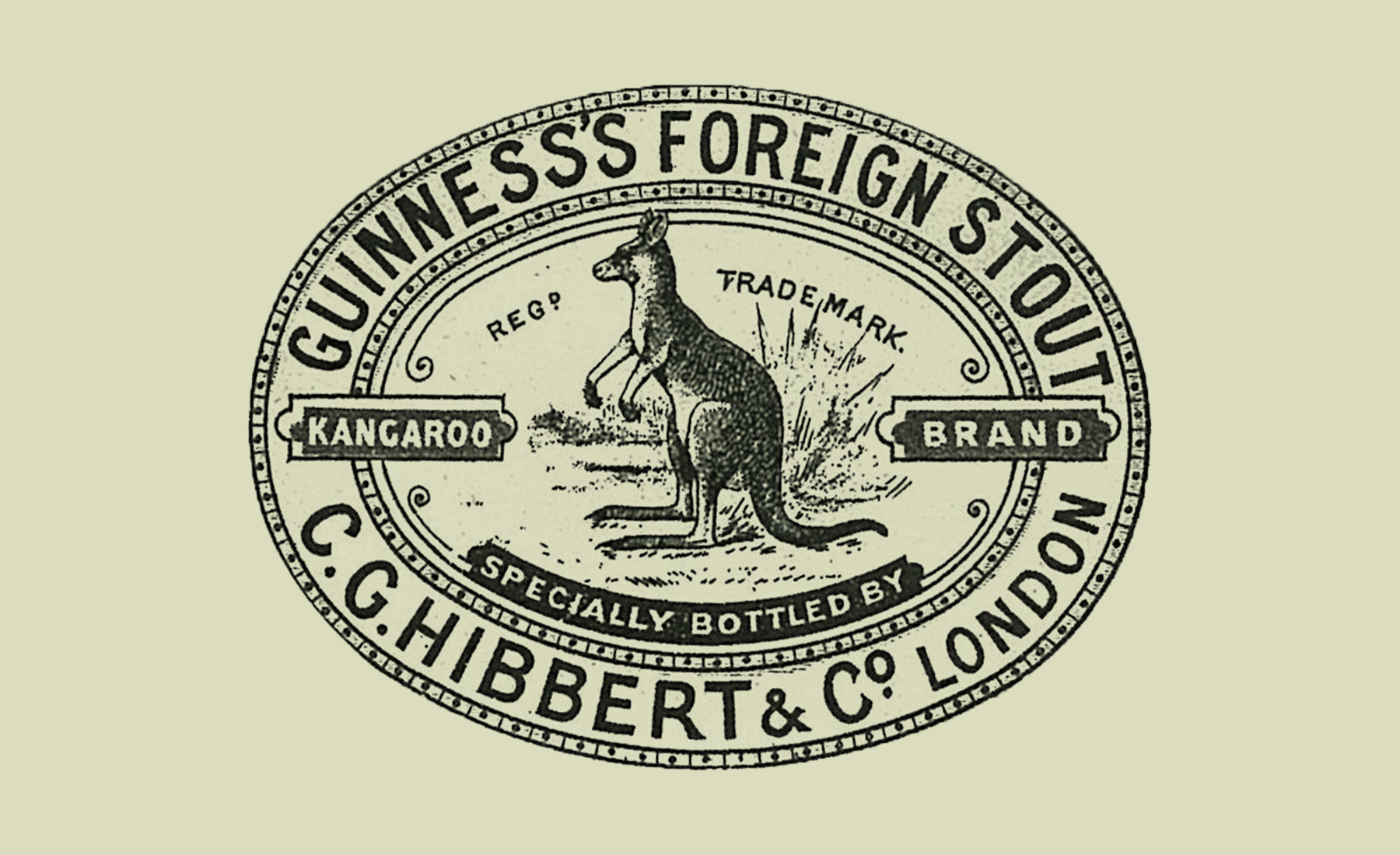 Guinness's Foreign Stout — Kangaroo Brand