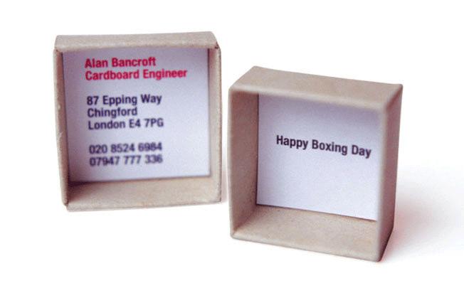 Box clever for a cardboard engineer –  Zach John Design