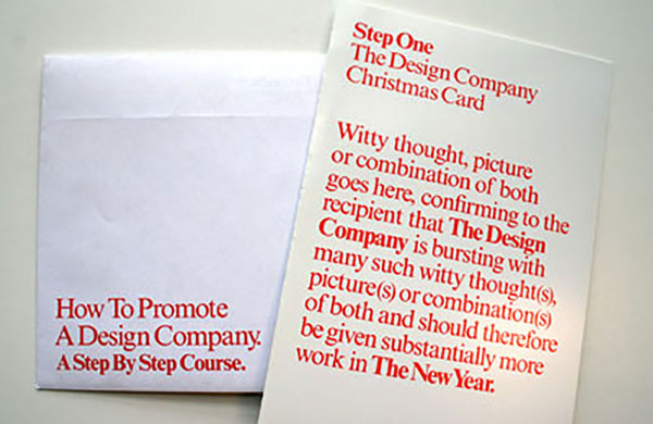 How to promote a design company - a step by step course