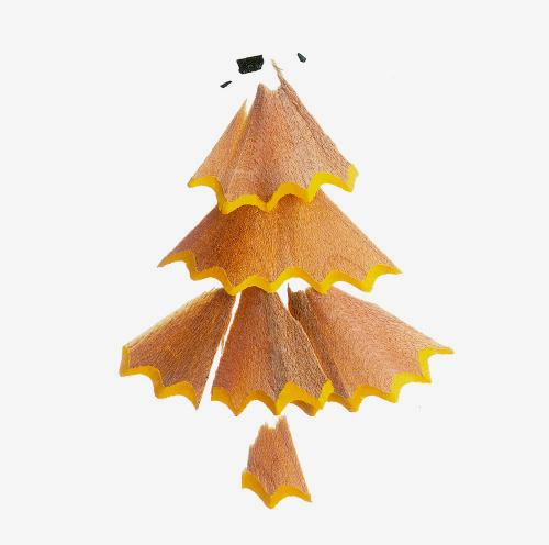 Shavings from a D&AD award pencil create a tree –  Andy & Jonny