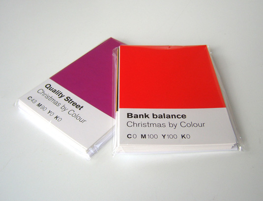 Your colour chart to the challenges of Xmas –  The Chase