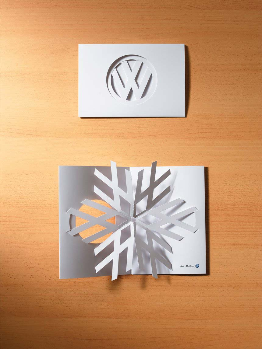 The VW logo becomes a snowflake –  DDB New Zealand