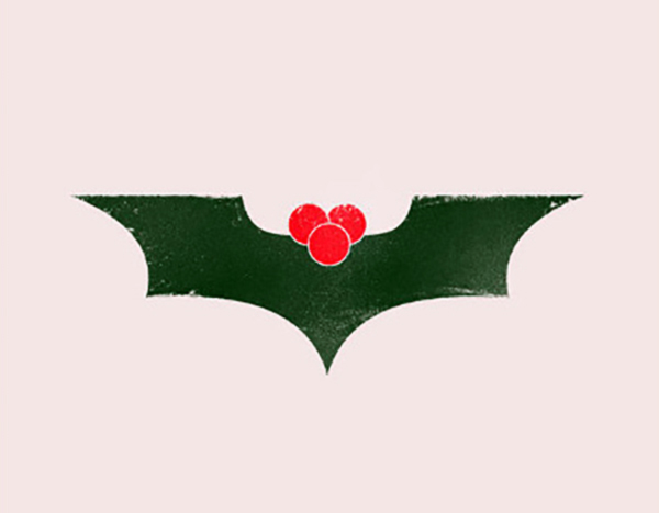 Batman's Christmas card