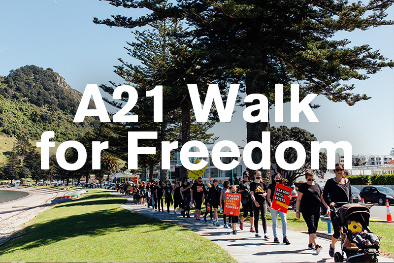 A21 Walk for Freedom