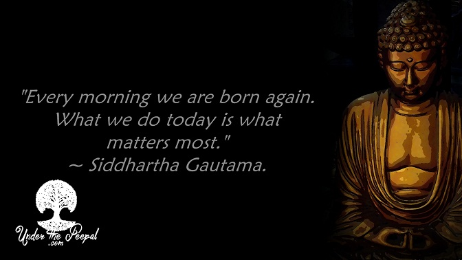 What matters most Siddhartha Gautama
